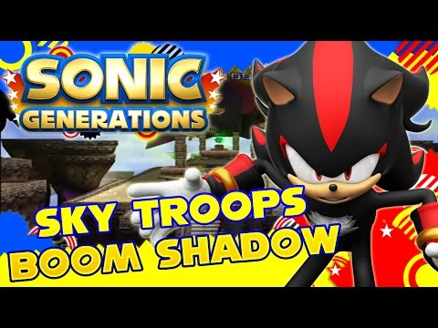 Download Sonic Generations Boom Shadow In Green Forest Mod