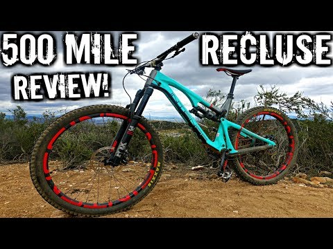 2018 Intense Recluse VS. 2017 Recluse MTB Bike Review | 500 Mile Review | Mountain Bike Test Ride