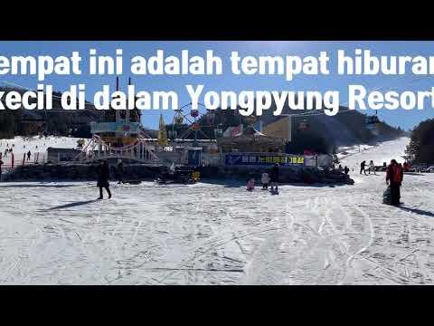 [Komi Unni's life in Korea] #7 Main ski di Korea episode ke-2