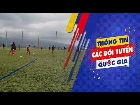 U16 và U19 Việt Nam trở lại tập luyện sau ảnh hưởng của siêu bão Jebi