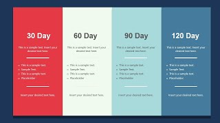How to create a 30 60 90 Day Plan?   Animated 30 60 90 Day Plan Example   SlideUpLift
