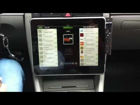 iPad Einbau in Audi A4