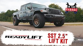 In the Garage Video: ReadyLIFT 2.5″ SST Lift Kit for Jeep Gladiator