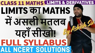 Basics of Limits and Derivatives Class 11 Maths IIT JEE Mains