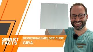 GIRA KNX Bewegungsmelder CUBE   Was kann er? Wie sieht er aus?   Unboxing, Montage