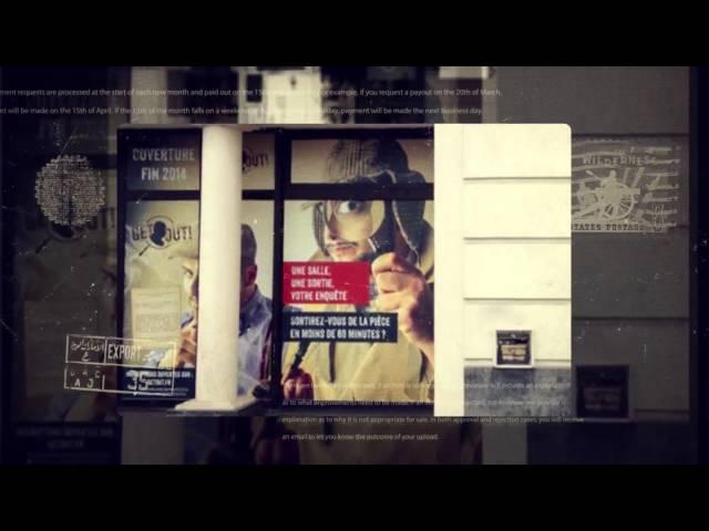 GETOUT : Charte graphique et supports