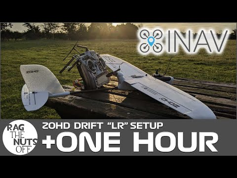 ZOHD Drift One HOUR in the Sky Setup Inc iNav Settings