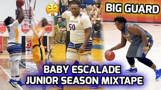 "6'8"" 300 Pound Point Guard Ty'Rion ""Baby Escalade"" Denson TERRORIZES Defenses! Official Junior Mix 🔥"