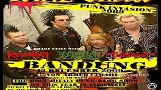"Mawar Berduri Band - Punk Invasion South East Asian Tour "" Total Chaos"" | Lapangan Saparua 2009"