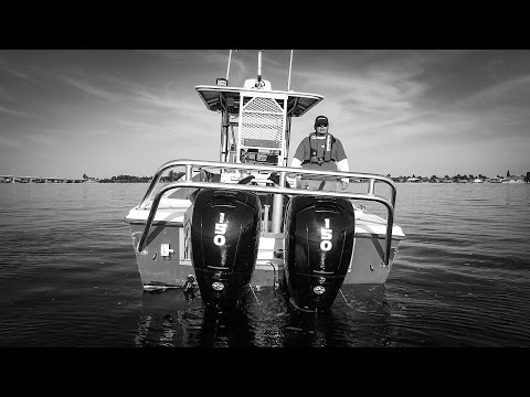 2017 Mercury Marine SeaPro FourStroke 90 hp in Albert Lea, Minnesota