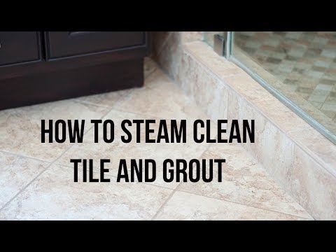 How To Steam Clean Tile Floors And Grout - Chemical Free - YouTube - YouTube