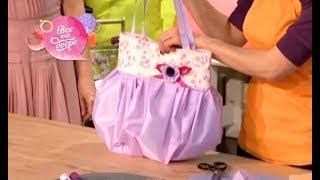 Смотреть онлайн Шьем сумку из старого зонта своими руками