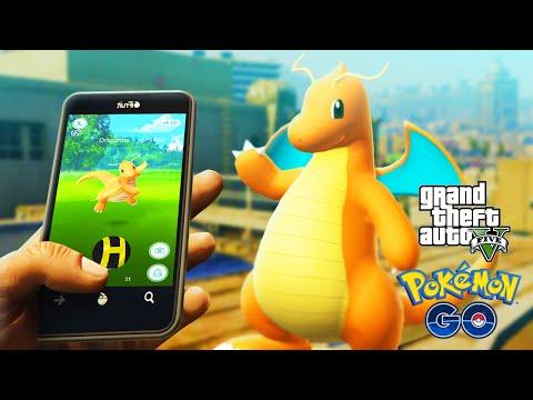Download MP Video GTA Mods POKEMON GO CATCHING A DRAGONITE GTA