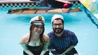 Floating on $20 Cardboard Boats
