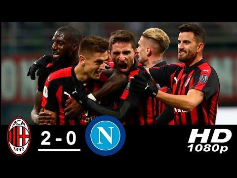 Milan vs Napoli 2 0 Highlights   All Goals HD 720P HD
