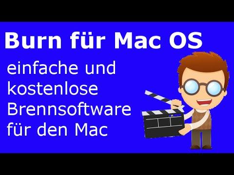 Burn für Mac OS - Einfache und kostenlose Brennsoftware