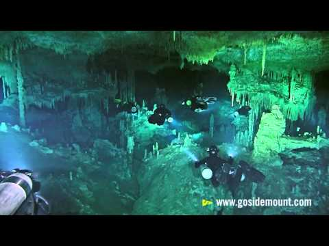 First Ever Cave Diving Flash Mob (Höhlen der Rivera Maya), Rivera Maya,Mexiko