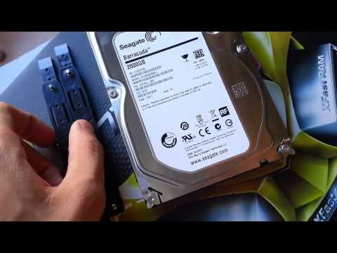 Unboxing mas Instalación de Disco Duro Seagate Barracuda 2TB