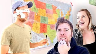 """Thanks to Dollar Shave Club for sponsoring. Go to http://DollarShaveClub.com/Ryland to get your first starter set for $5. After that, the restock box ships regular-sized products at regular price.  **Original Video Concept by Julien Solomita & Collin Duddy of Last Minute Trips https://www.youtube.com/channel/UClG73LbaSrUjPDmARxYWl8Q  We got fun ideas of what to do in Seattle from Monica Church's 10 things to do in Seattle! https://www.youtube.com/watch?v=pdO1mO6PHDU  Subscribe to Morgan https://www.youtube.com/channel/UCSfLUmBHOLoL0uHcxhRCwFw Subscribe to Shane https://www.youtube.com/user/shane/vi...   I finally have merch!! https://www.amazon.com/rylandadams  WATCH MY LAST VIDEO: """"I Turned Our House into the Taco Bell Hotel! https://youtu.be/XB0nAqCmpQw   ADD ME ON: INSTAGRAM: https://www.instagram.com/rylandadams... TWITTER: https://twitter.com/ryland_adams?lang=en SNAPCHAT: @rylandadams"""
