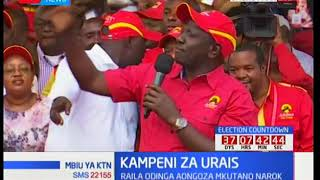 DP William Ruto warns IEBC Chair Wafula Chebukati, wants him to stop the