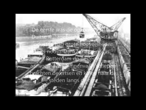 geschiedenis Rotterdamse haven