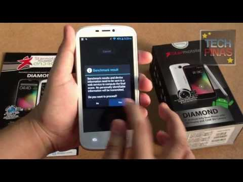 Starmobile Diamond Unboxing Quick Demo, Touch Response Check