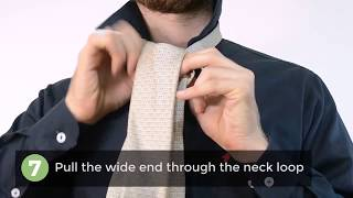How to Tie a Tie using the Windsor Knot