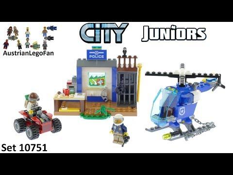 Vidéo LEGO Juniors 10751 : La course poursuite à la montagne