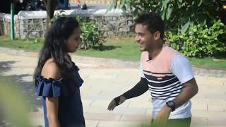 Kiss Karna Sikhado Prank By Desi Boy With Twist In Mumbai On Cute Girl Epic Reaction
