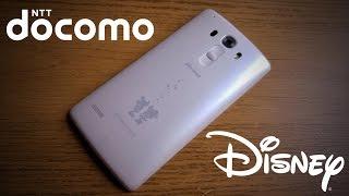 LG DM-01G Disney Docomo Review (English)