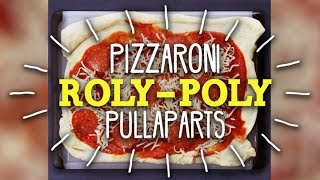 How To Make Pizzaroni Roly-Poly Pullaparts! FULL RECIPE