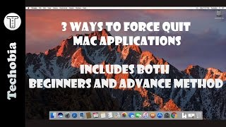 How to Force Quit Mac Application or kill process in 3 different ways