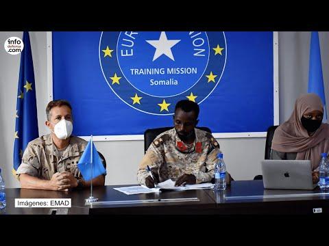 Somalia recibe el primer manual C-IED, elaborado por militares españoles