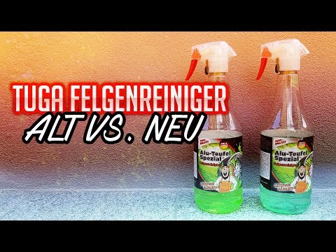 Tuga Alu Teufel ALT vs NEU | Felgenreiniger Test 2018 | 83metoo