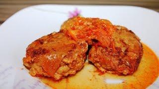 Рыбные тефтели с томатной подливой в мультиварке   Рецепт рыбных тефтелей