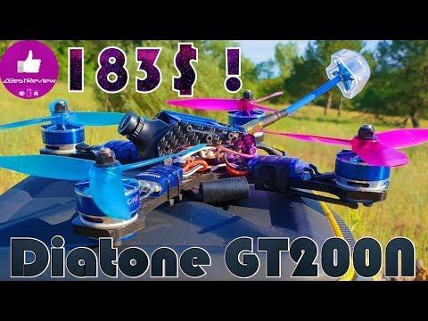 ✔ Успей Купить Отличный FPV Квадрокоптер Diatone 2017 GT200N за 183$ на Banggood!