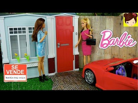 Barbie Titi Compra Nueva Casa de Muñecas - Habitacion de Barbie + Muebles para muñecas