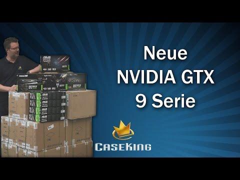 NVidia GeForce GTX 900 Maxwell Serie - Caseking TV