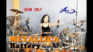 [New] Metallica - Battery drum-only (cover by Ami Kim)(#63-2)