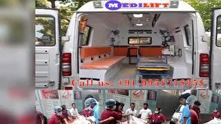 Take Advantages of Medilift Ambulance Service in Delhi