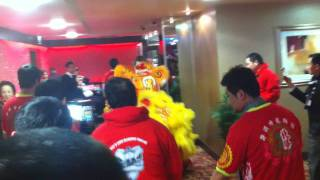 Chinese New Year Lion Dance At Great Yarmouth Casino Part 3.MOV