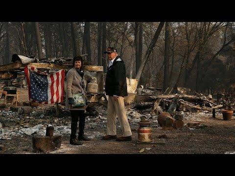 Καλιφόρνια: Ξεπερνούν τους 1.000 οι αγνοούμενοι από τις πυρκαγιές…