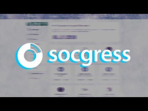 Socgress - пассивная накрутка всех соц сетей