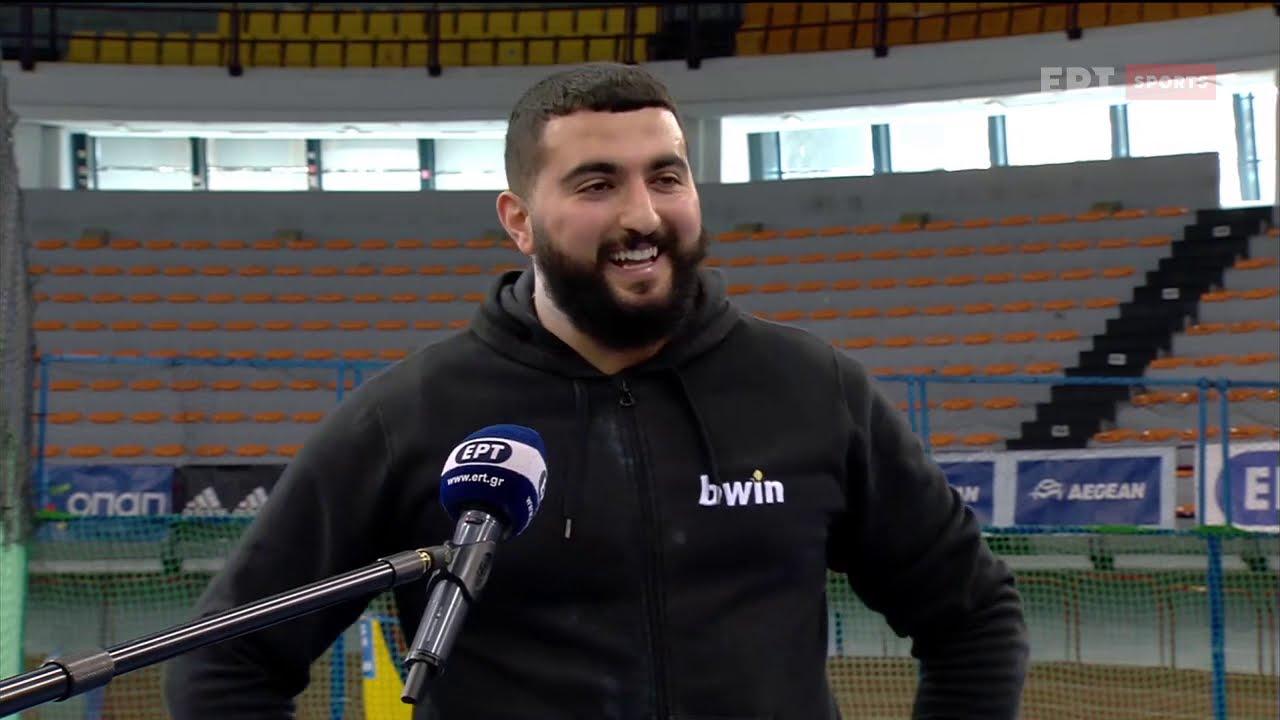 Νικητής στη σφαίρα ο Οδυσσέας Μουζενίδης | 12/02/21 | ΕΡΤ