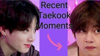 Taekook Moments Run BTS