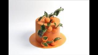 ЦИТРУСОВЫЙ ТОРТ (Лимон,лайм,апельсин и мандарины)