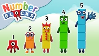 Numberblocks - 1 2 3 4 5 | Learn to Count