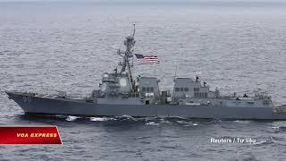 Tàu Trung Quốc Cảnh Cáo Tàu Chiến Mỹ