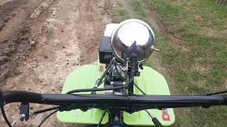 Motocultor WEIMA 900/La Treaba Cu Remorca