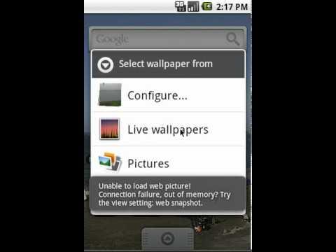 Video of WebLiveWallpaper BETA
